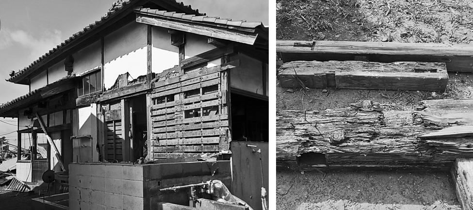 住み継ぐ家-増築部の解体