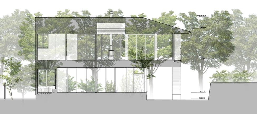造化にしたがひ造化にかへれ by kimizuka architects