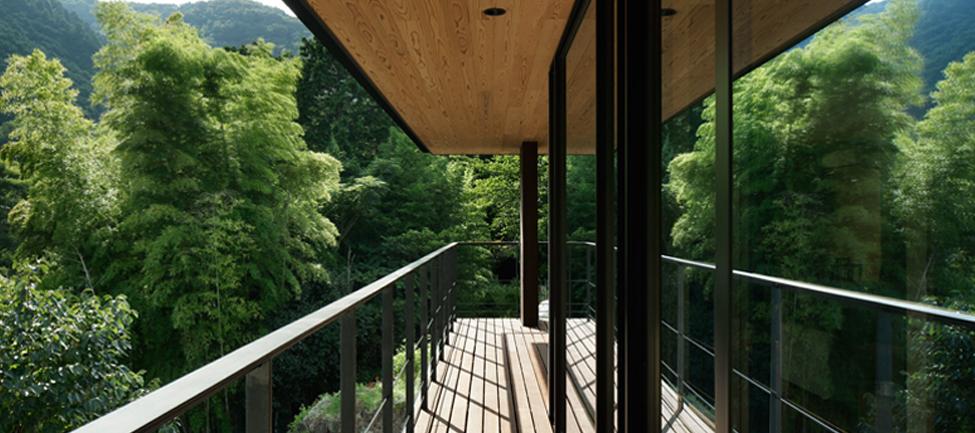 抽象的な自然浴 by kimizuka architects
